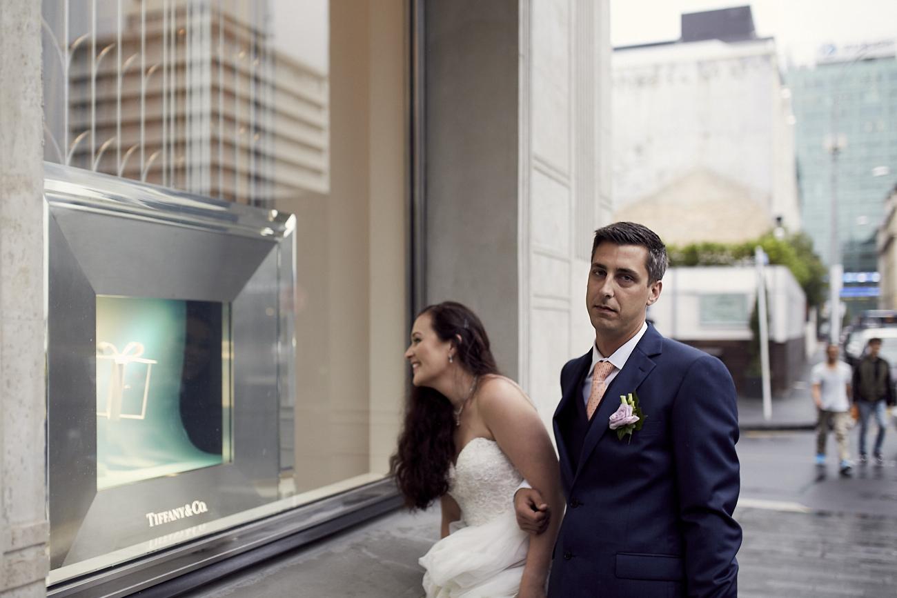 groom is not amused