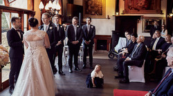 Cute wedding moment