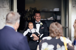 groom with child