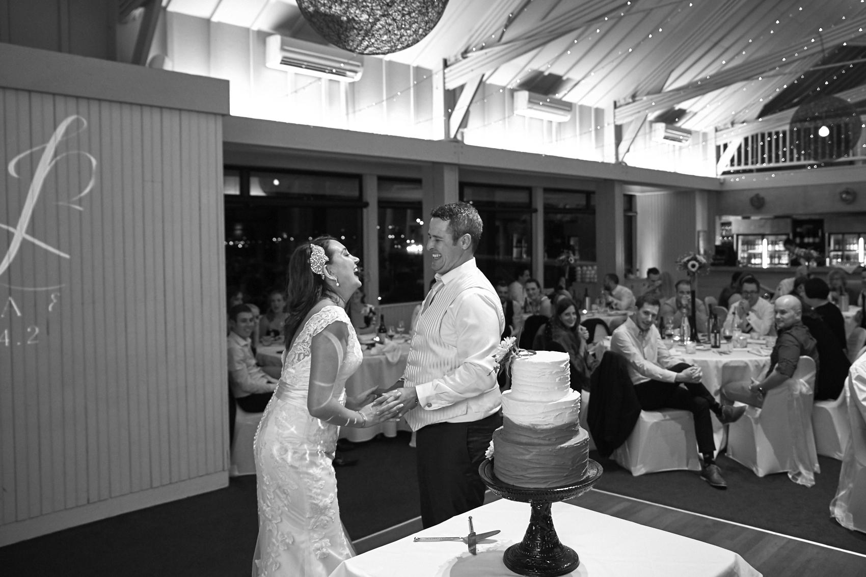 cutting the cake time