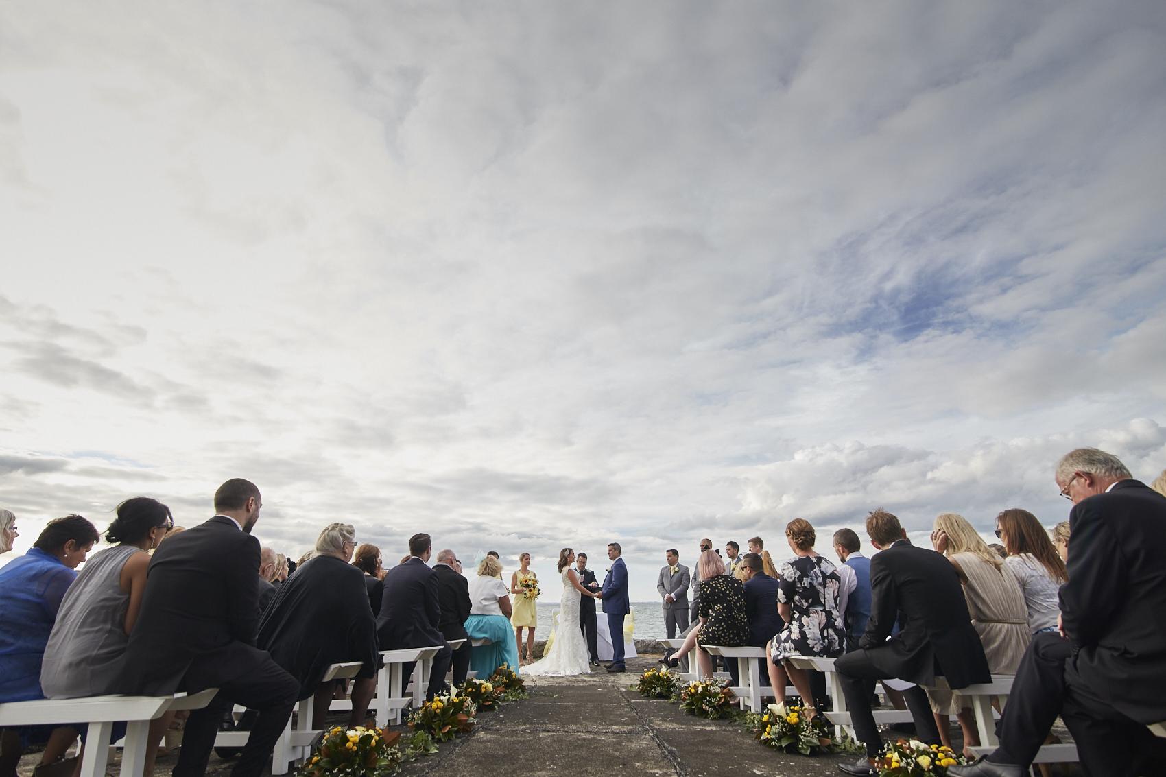 Great wedding weather
