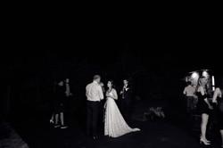 Bride outside the venue
