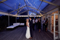 A sneaky first dance