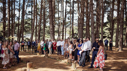 Guests awaiting the bride
