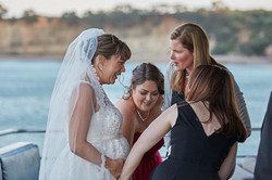 friends with bride