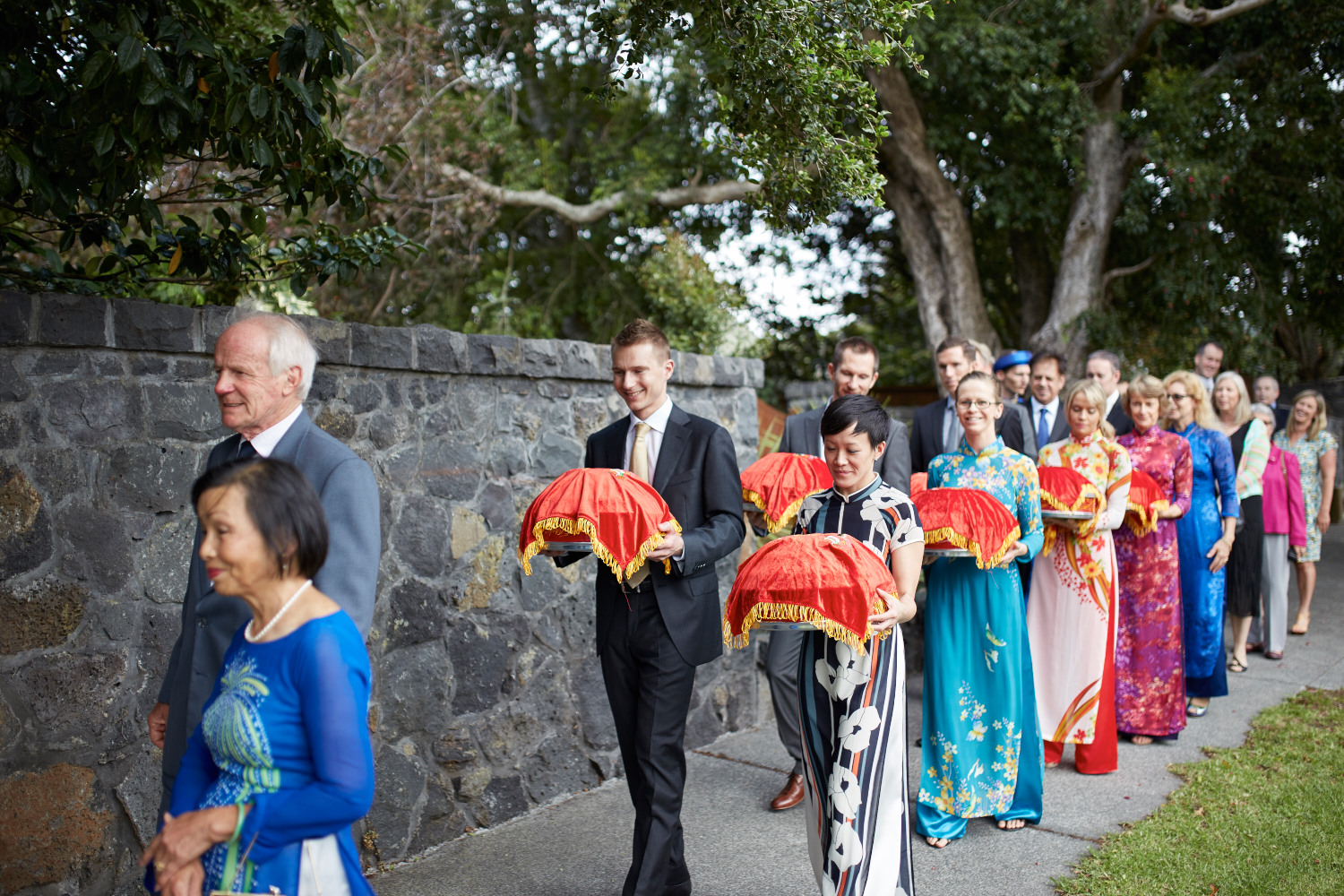 vietnamese tea wedding NZ