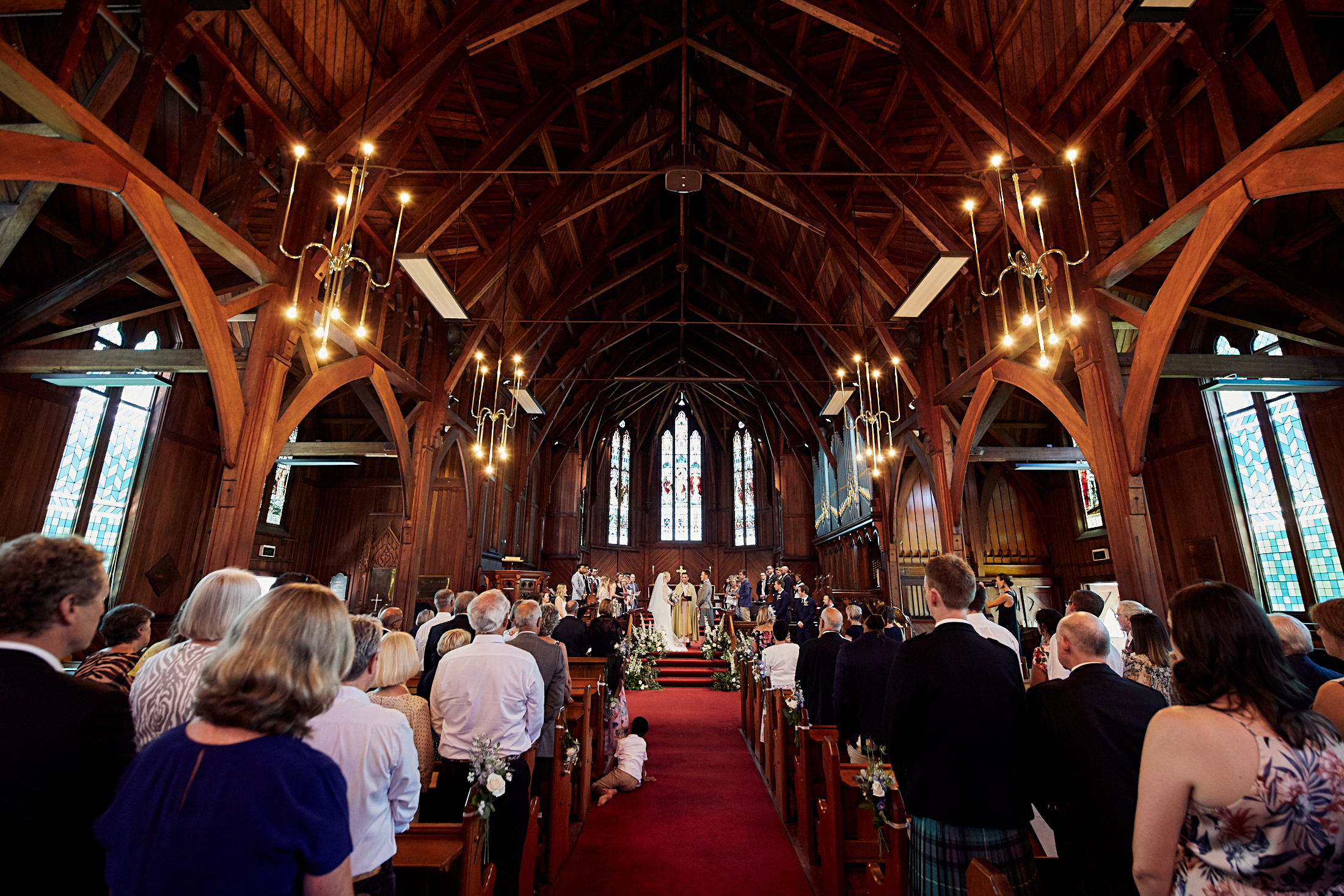 St Mary's church wedding