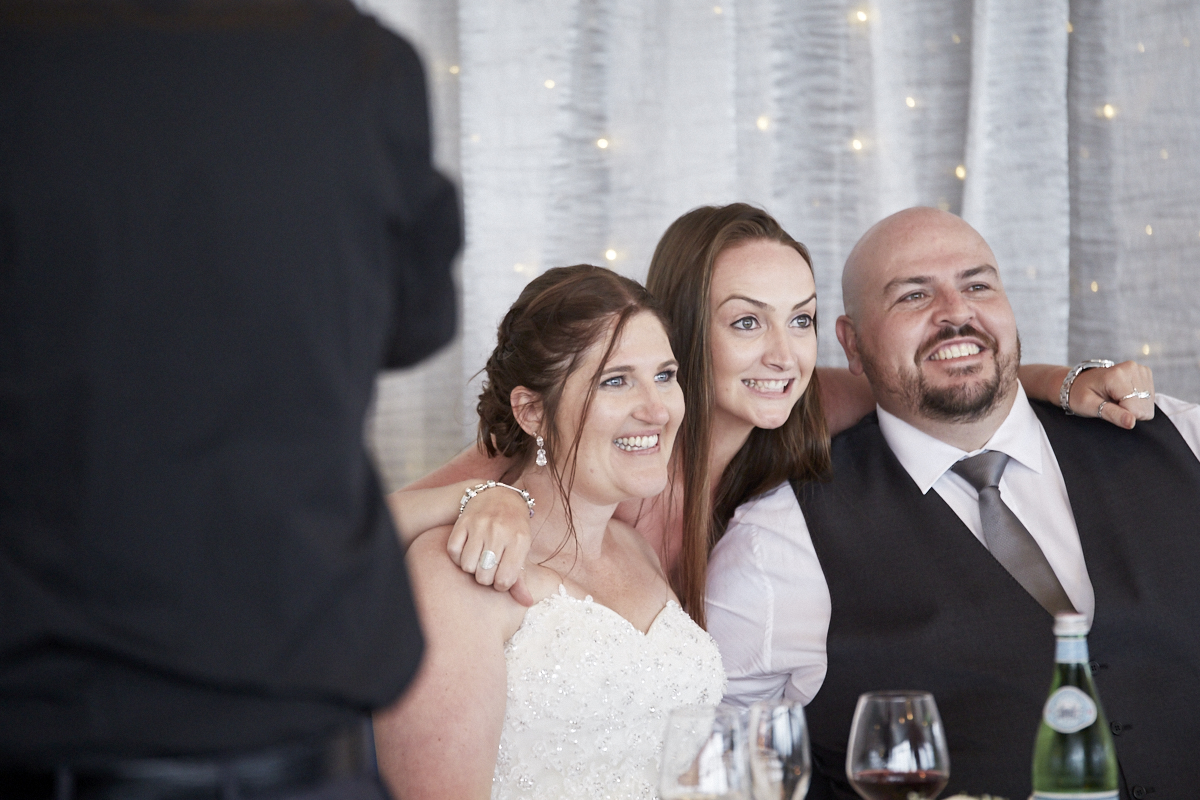 guest with the newlyweds