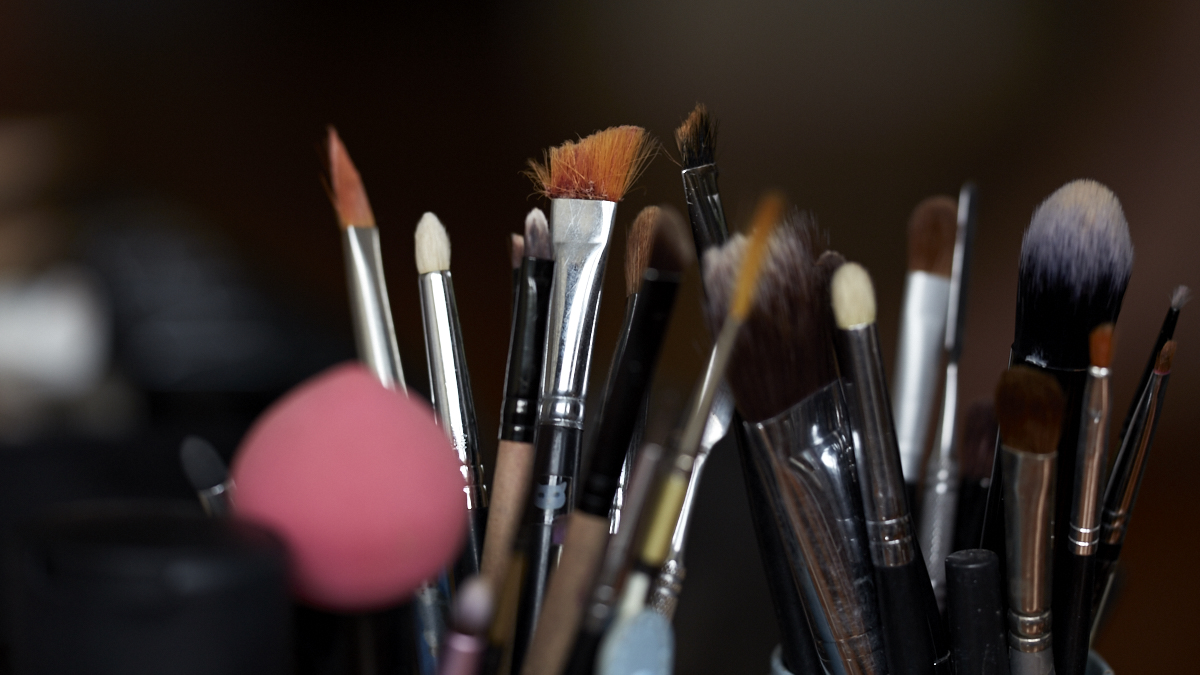 wedding makeup tools