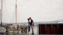 Auckland city engagement shoot