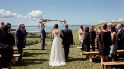 Stunning view at wedding