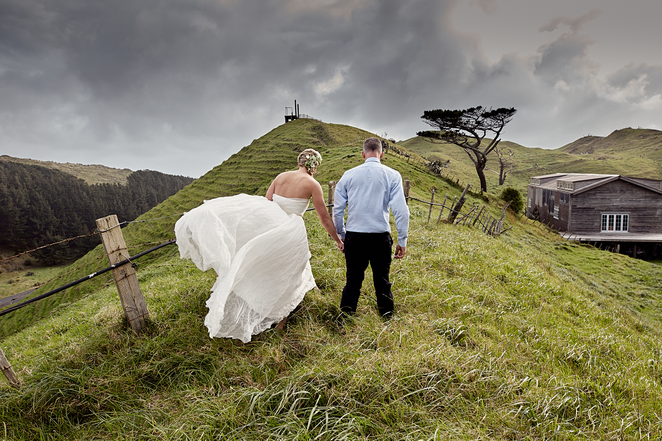 Authentic wedding photography