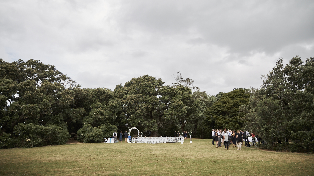 Auckland rose gardens wedding