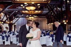 A priceless wedding moment