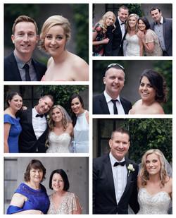 montage wedding guests