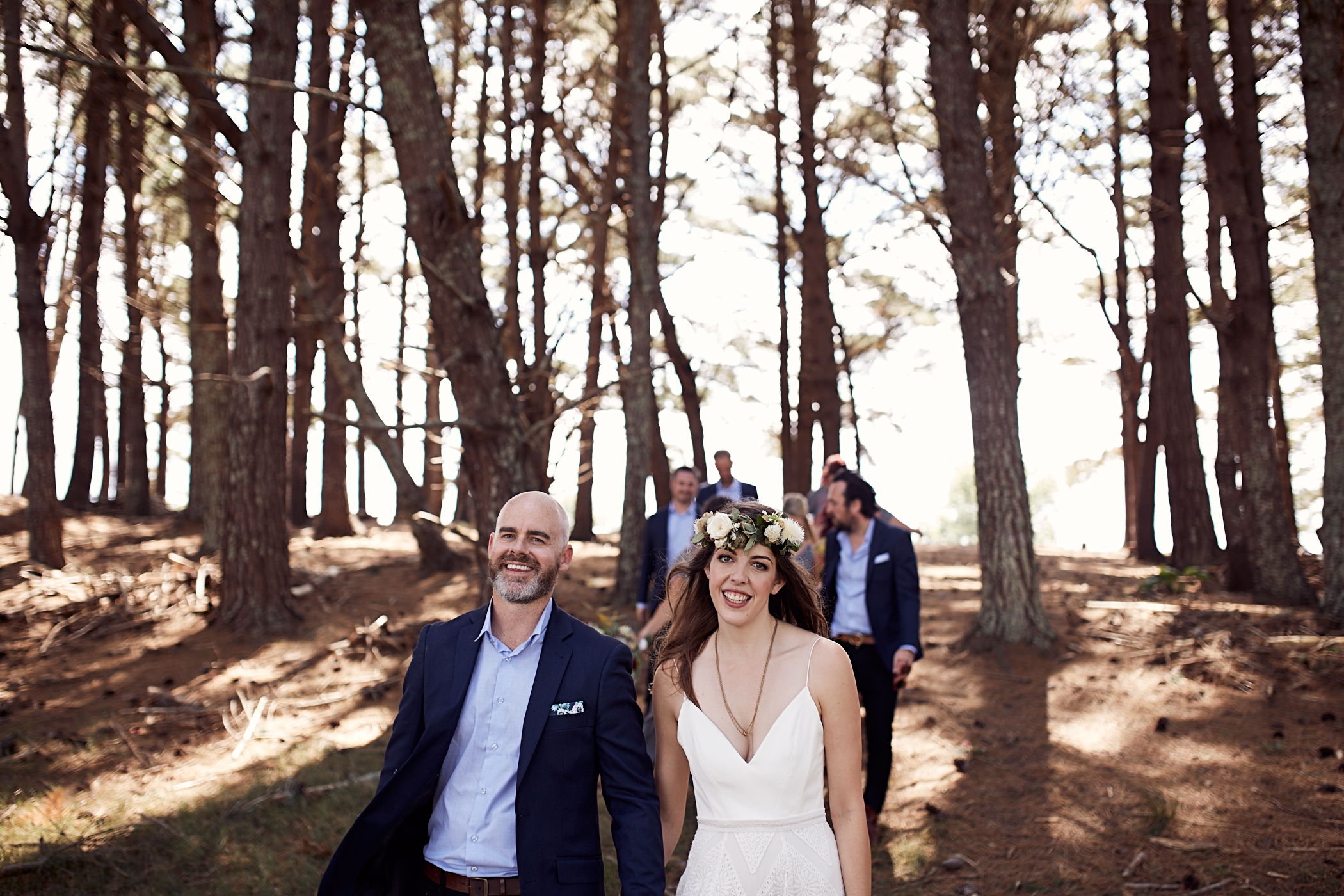 Woodland wedding NZ
