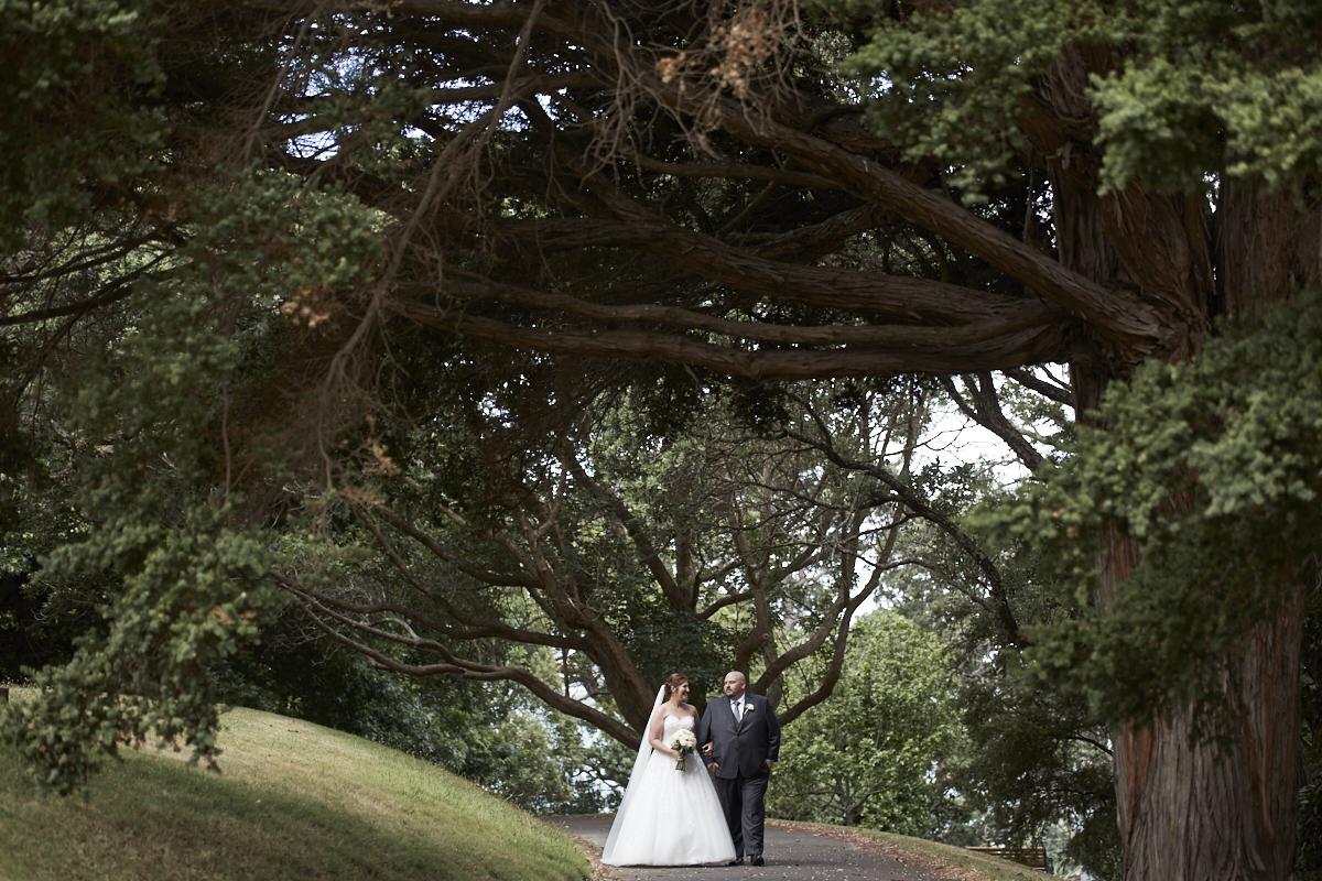 Parnell Rose Gardens wedding
