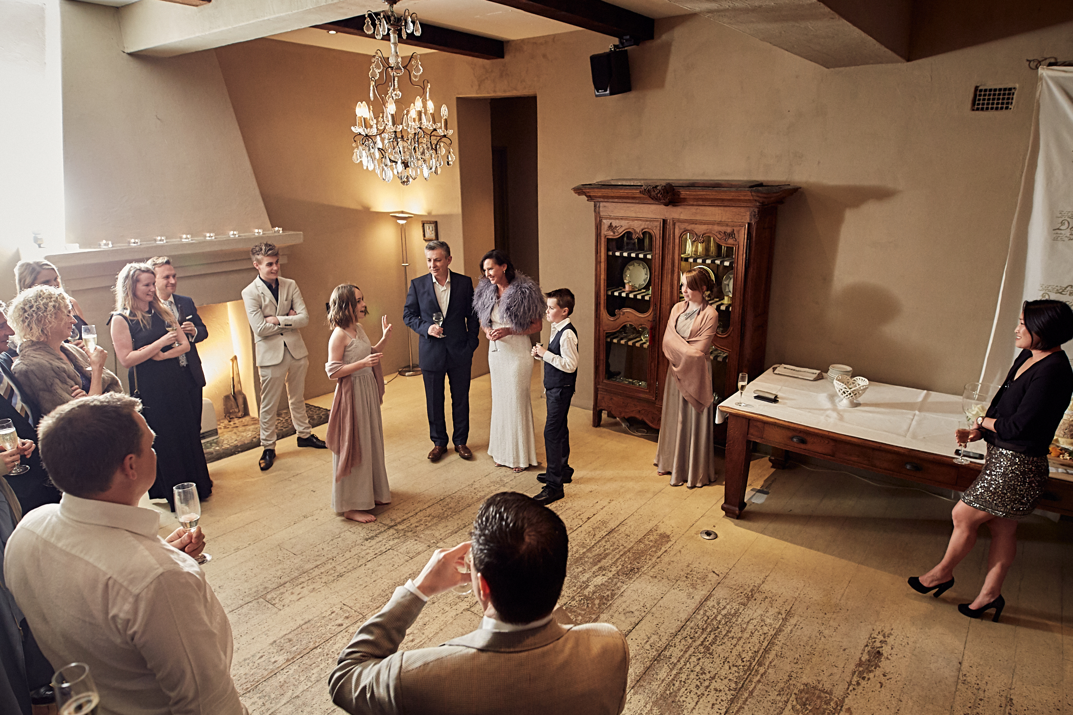 Mantells wedding speeches