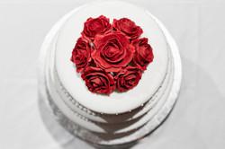 cake at wedding
