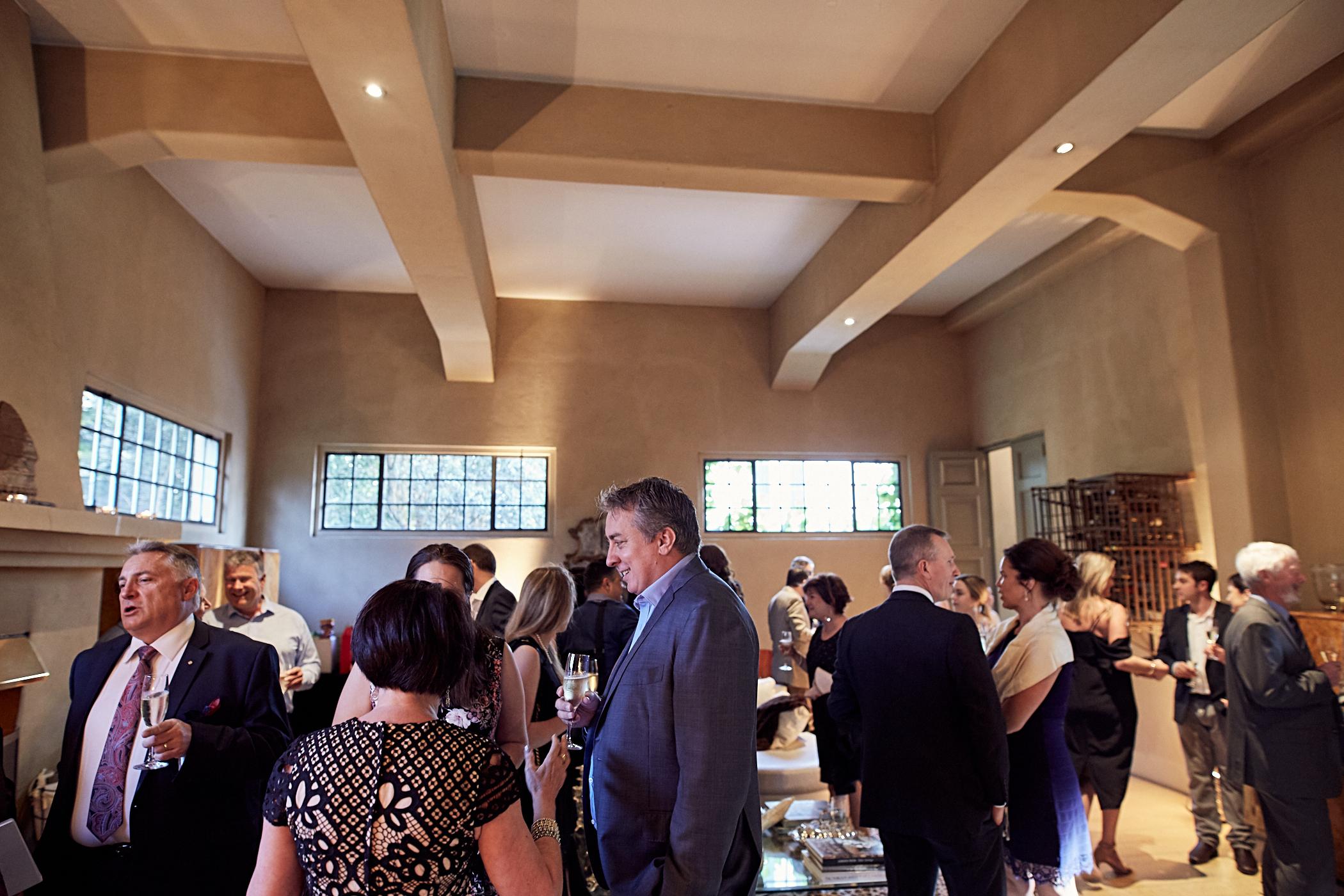 Inside Mantells wedding venue