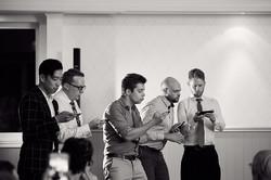 Singing at wedding