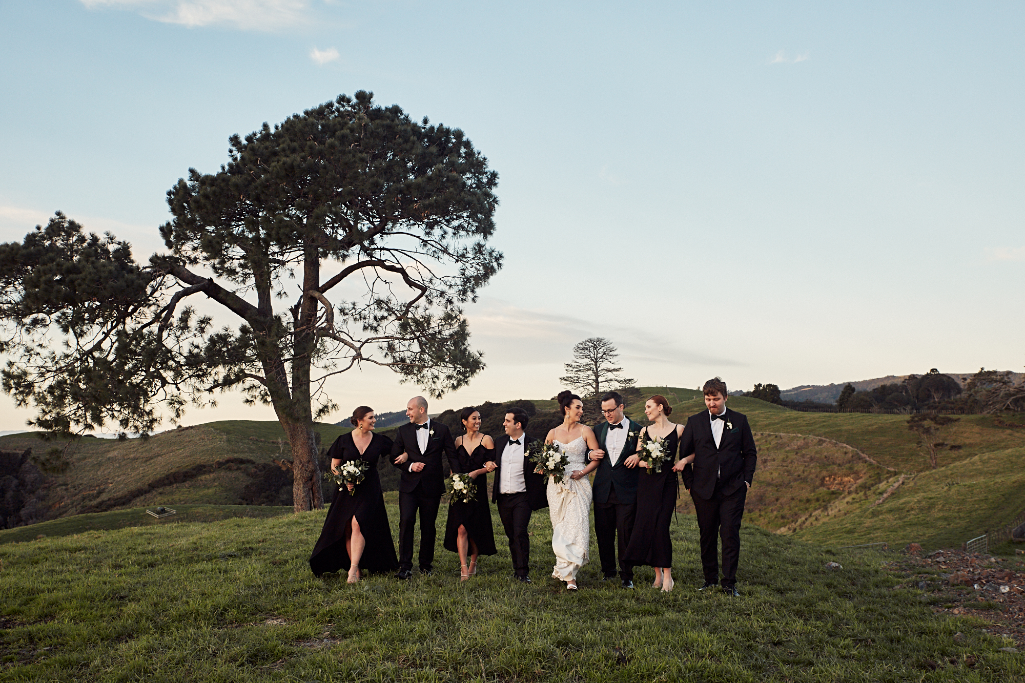 Wedding photographer at Kauri Bay Boomrock