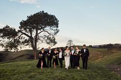 Wedding photographer at Kauri Bay Boomrock