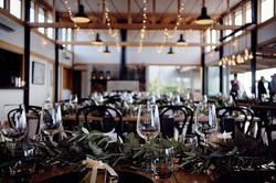 Inside the wedding venue