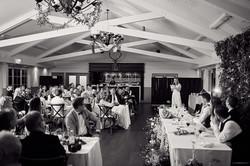 Bridesmaid give speech