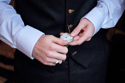 The groom's watch