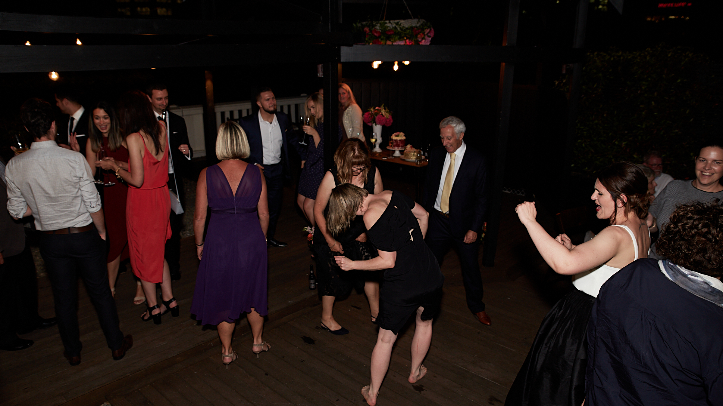 get on the dance floor