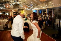 wedding dance at venue