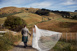Rural wedding Auckland