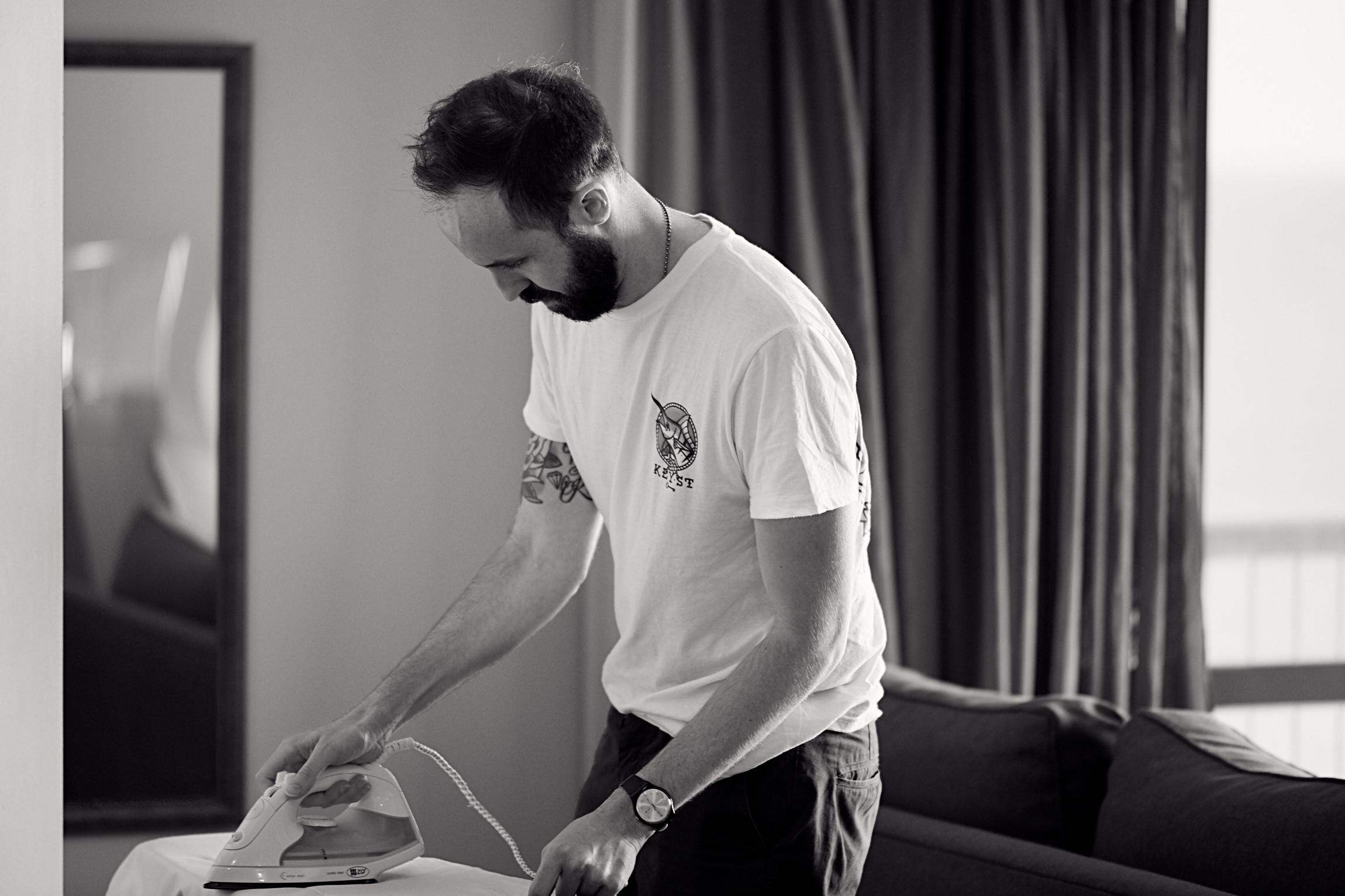 ironing time