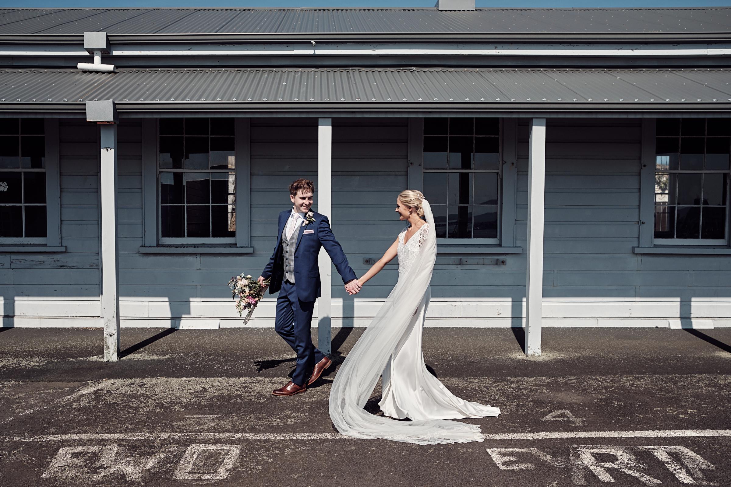 Wedding day strolls
