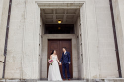wedding photos at Domain
