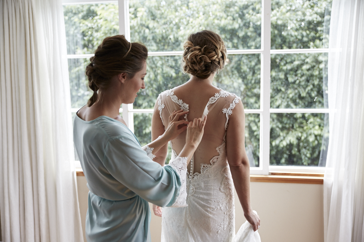 wedding dress adjustments