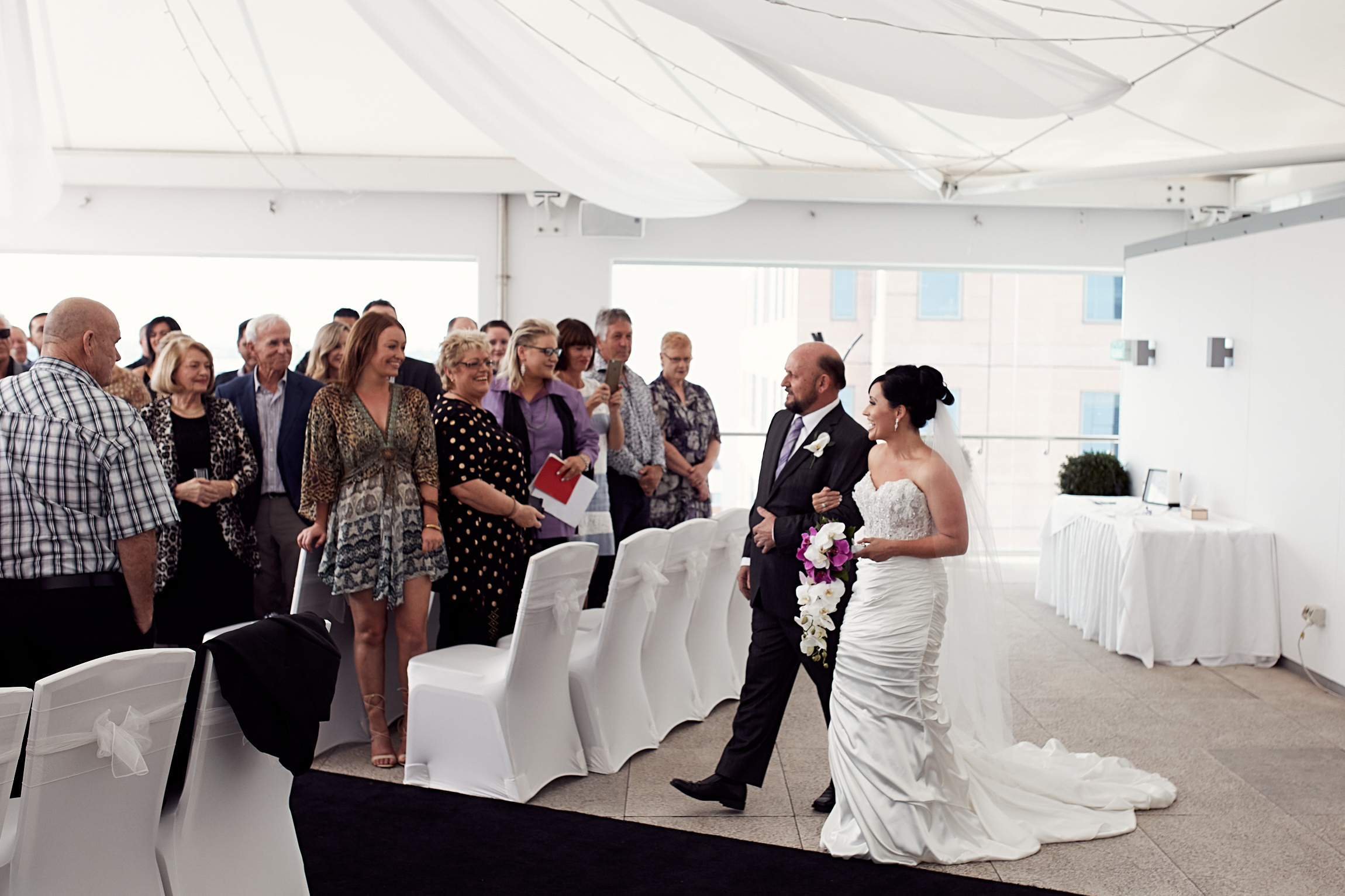 Rydges Hotel Auckland wedding