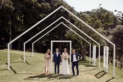 Creative wedding location