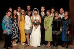 family group shot at Markovina