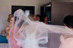 dress veil wedding