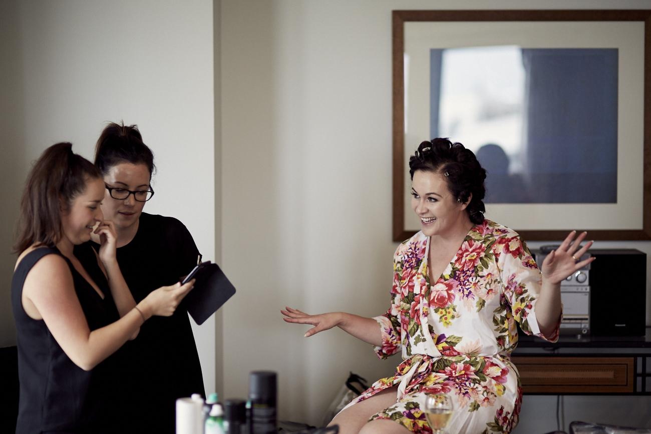 NZ wedding photo