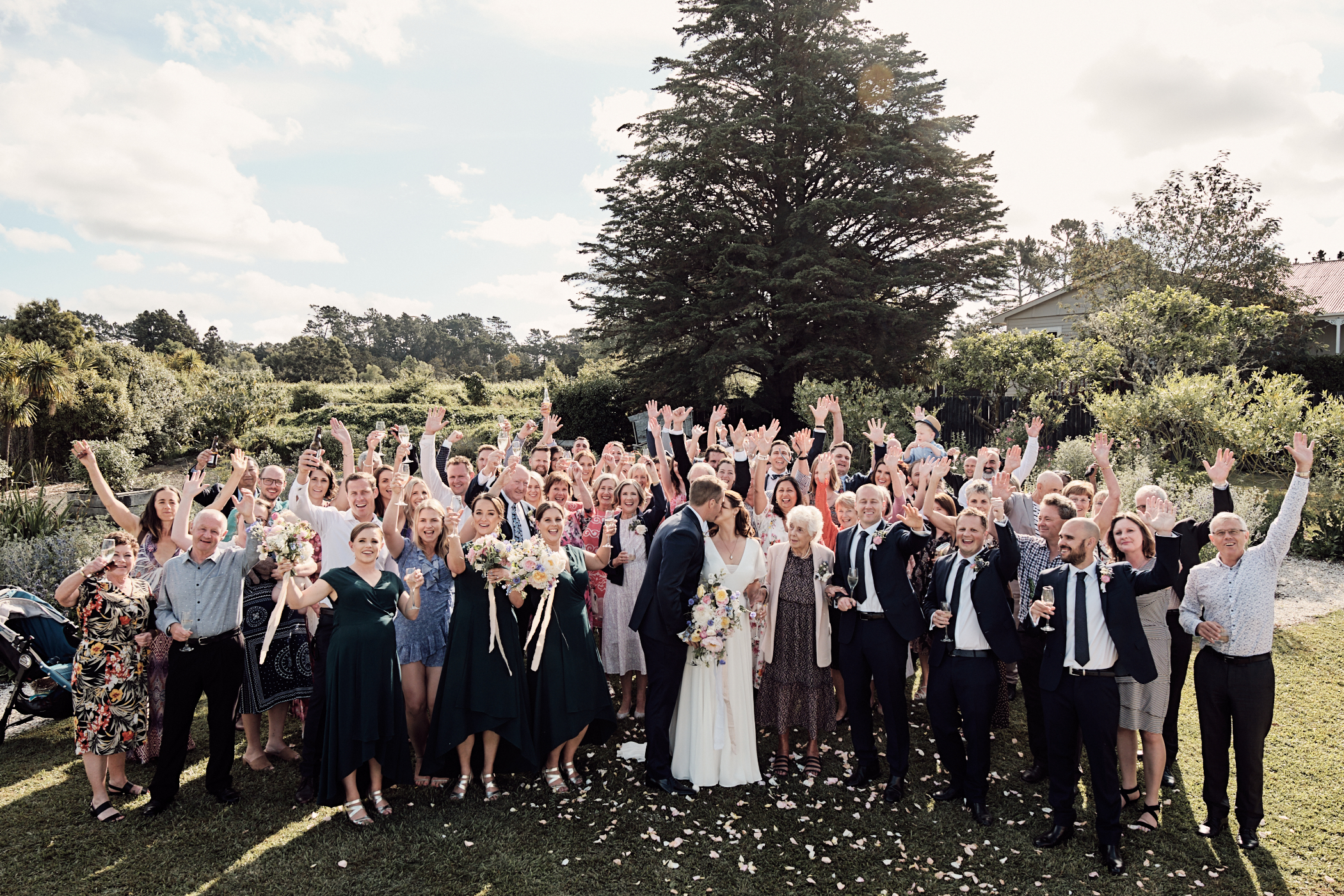 Auckland City Wedding