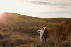 Wedding photography at Sunset