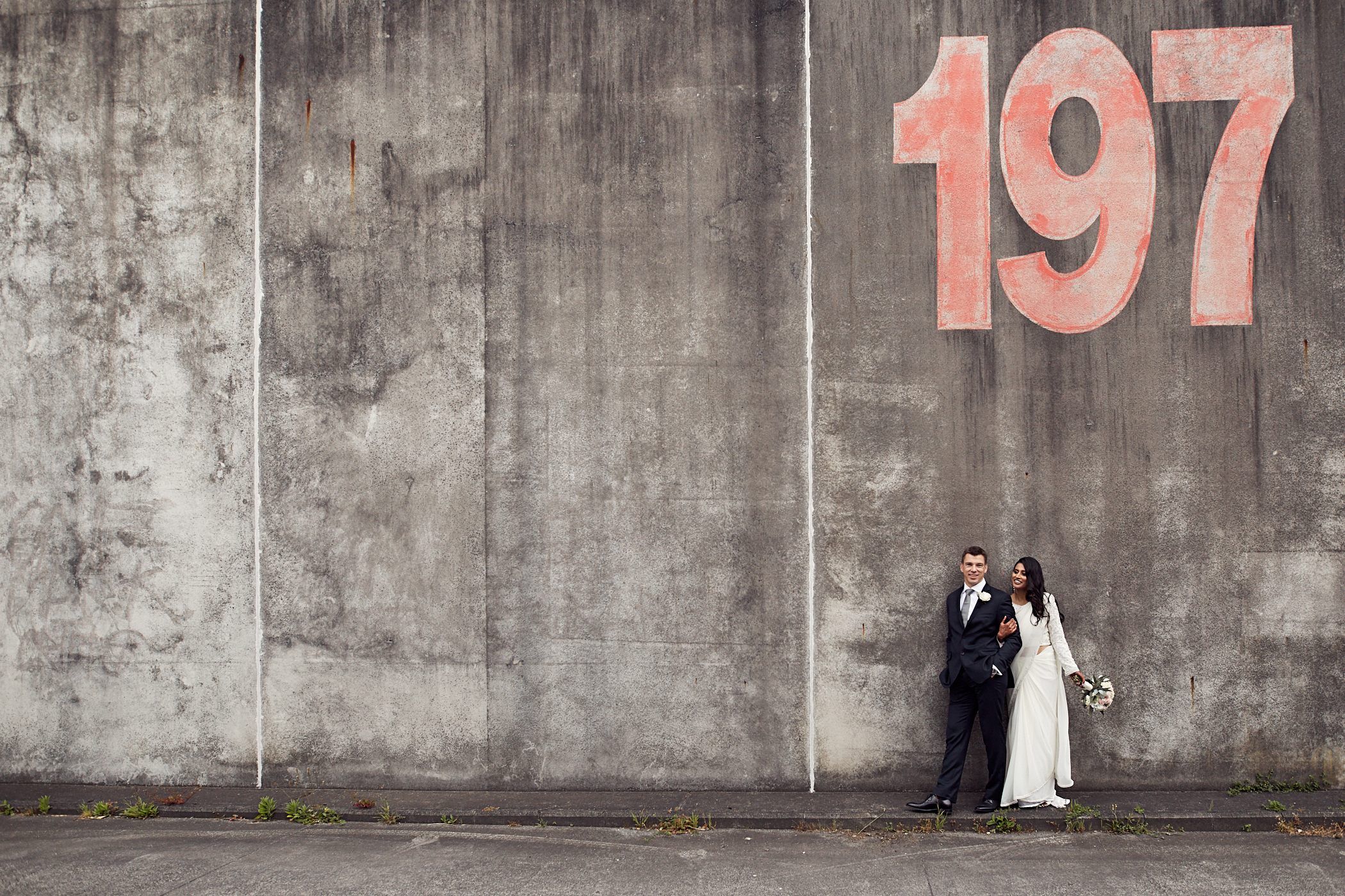 Urban wedding photographers