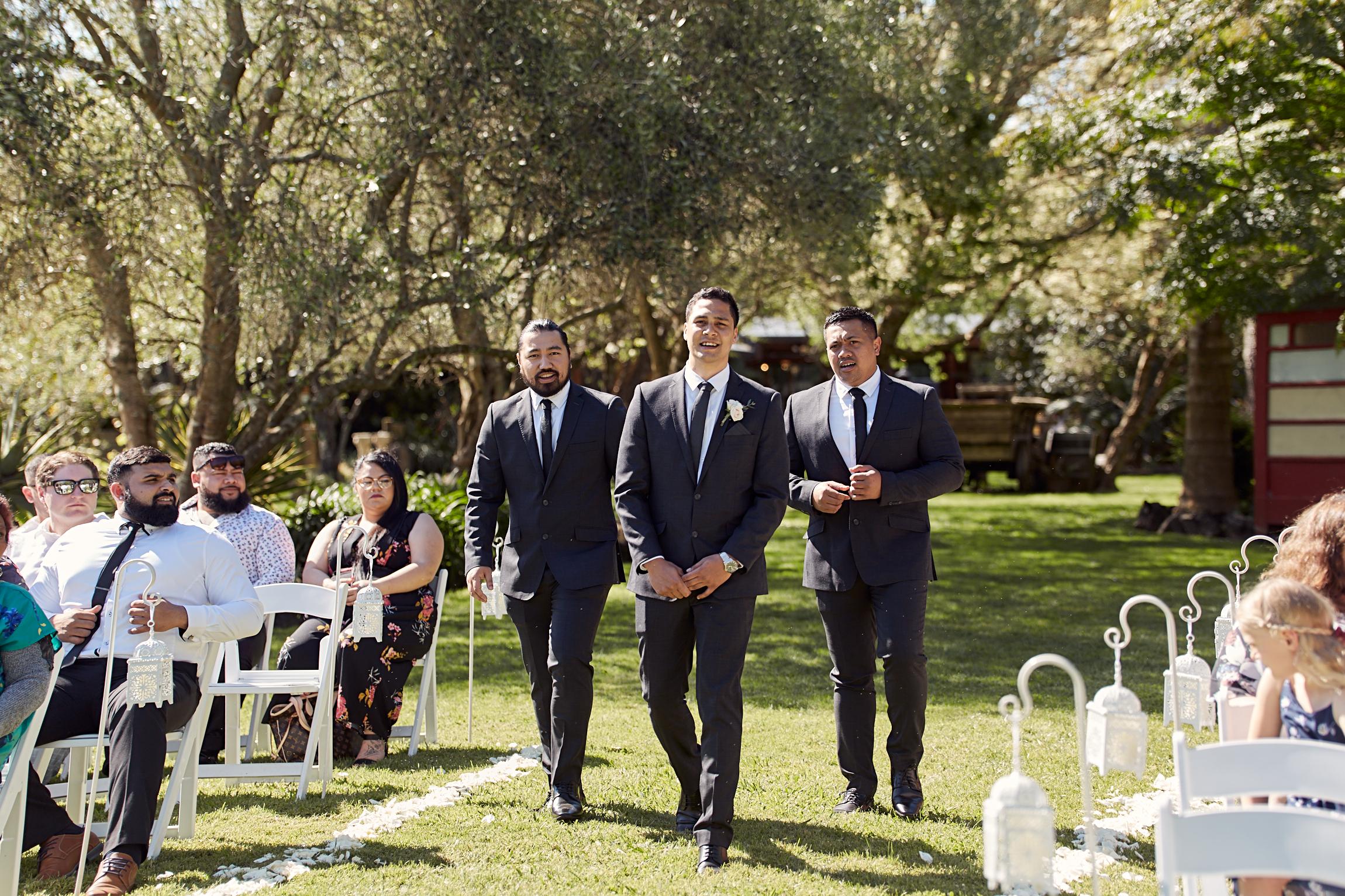 Markovina Estate wedding