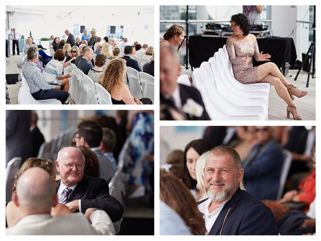 guests at Auckland wedding