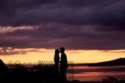 Best wedding sunset