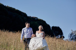 Couple in long grass