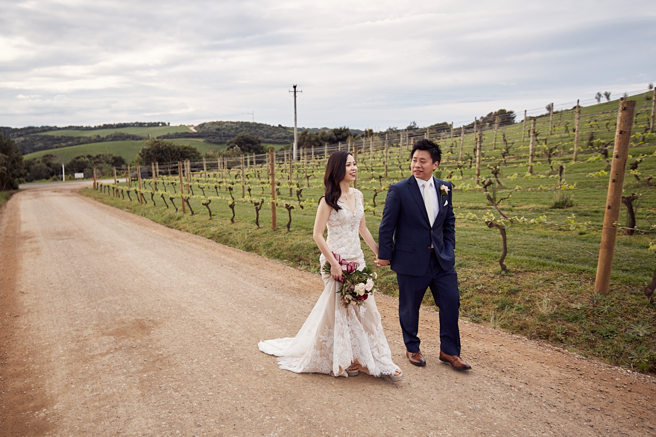 Waiheke Island wedding photo